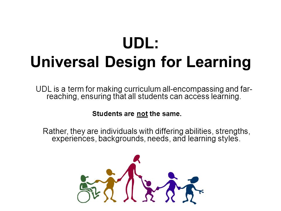 Udl Universal Design For Learning Ppt Video Online Download