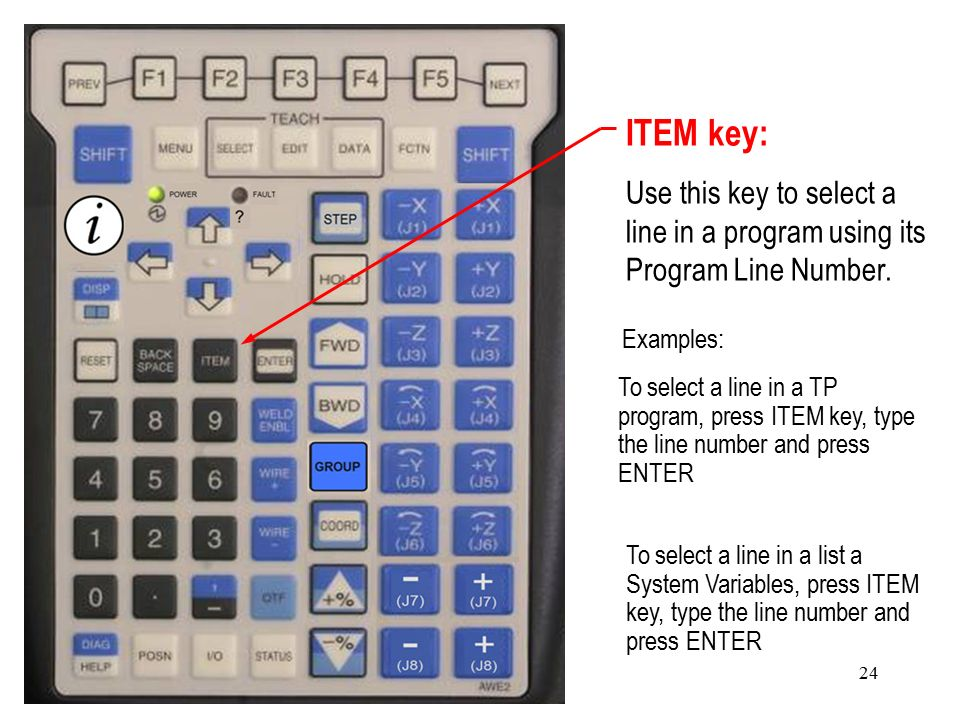 i-Pendant for the R-J30iB Controller - ppt video online download