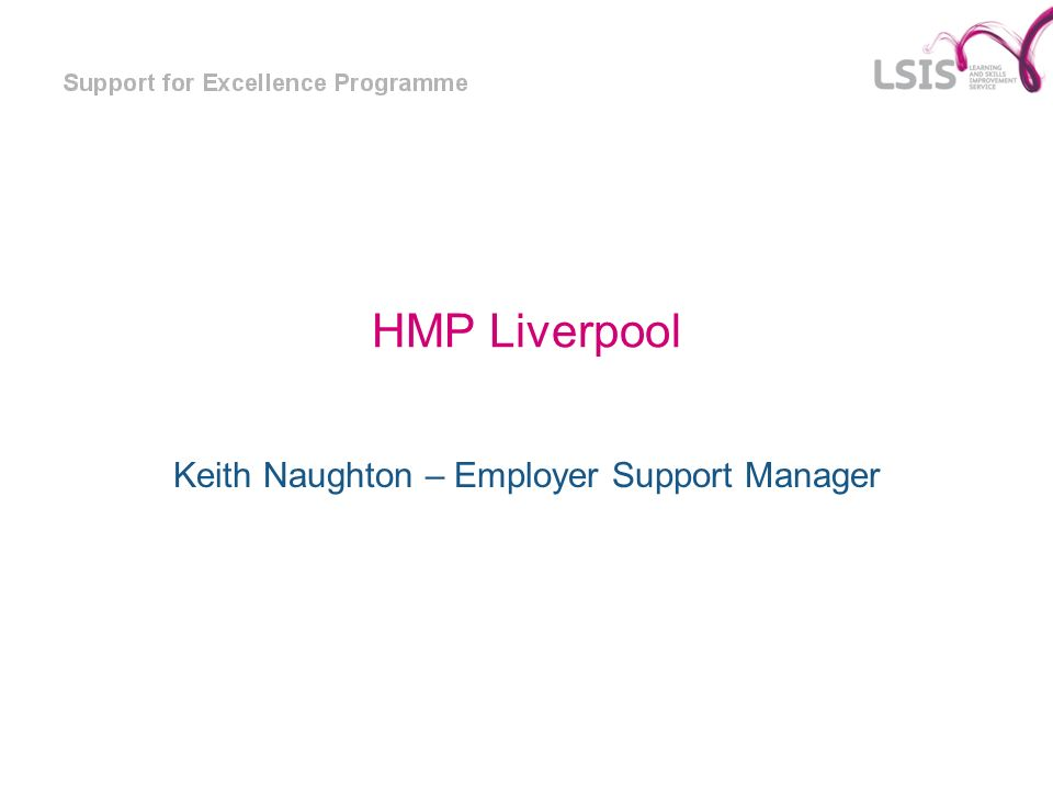 Keith Naughton – Employer Support Manager