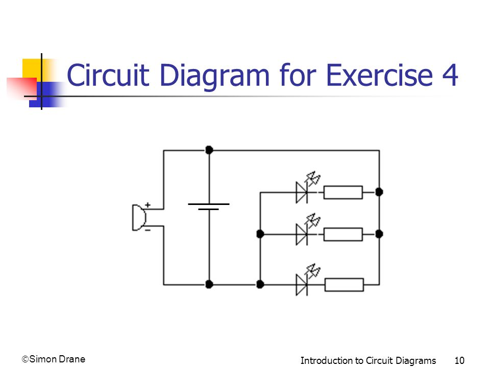 Circuit Diagram for Exercise 4
