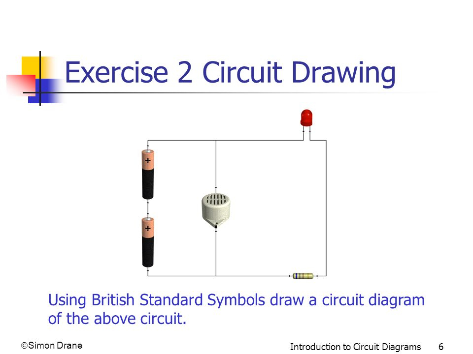 Famous Circuit Draw Adornment - Schematic Diagram Series Circuit ...