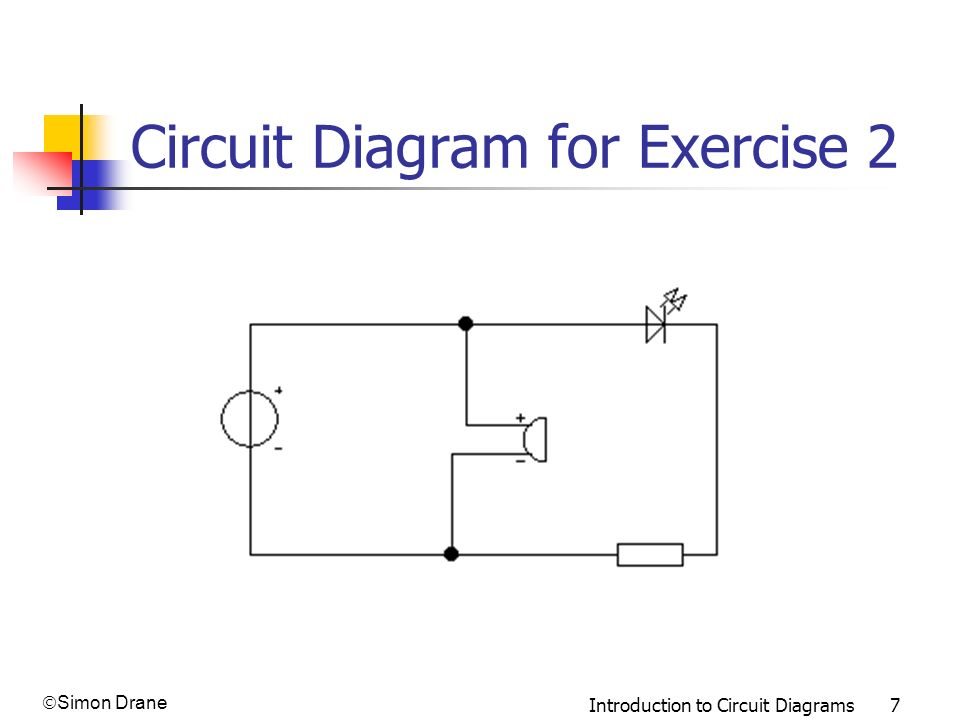 Circuit Diagram for Exercise 2
