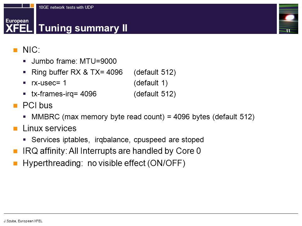 10GE network tests with UDP - ppt video online download