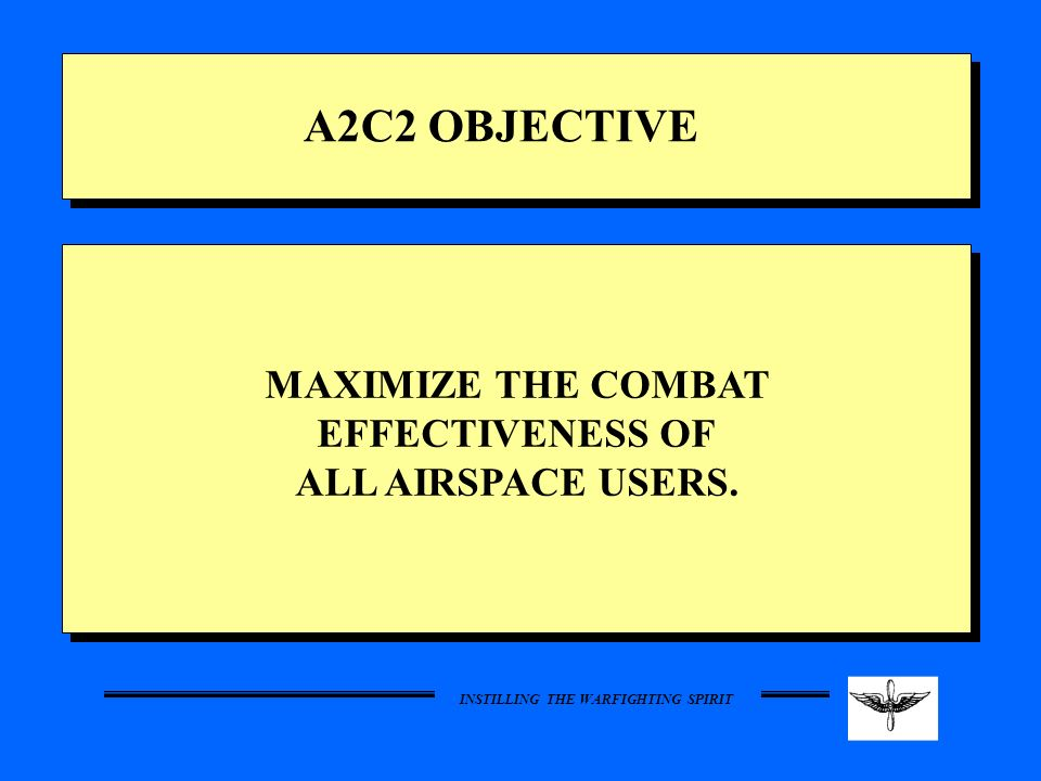 MAXIMIZE THE COMBAT EFFECTIVENESS OF
