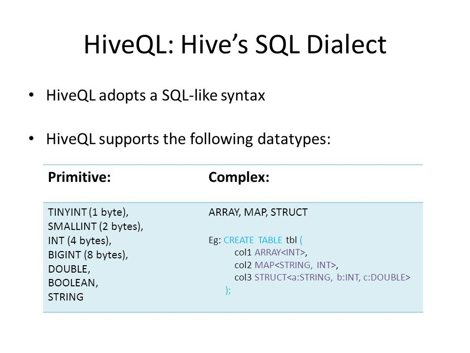 A NoSQL Database - Hive Dania Abed Rabbou  - ppt video