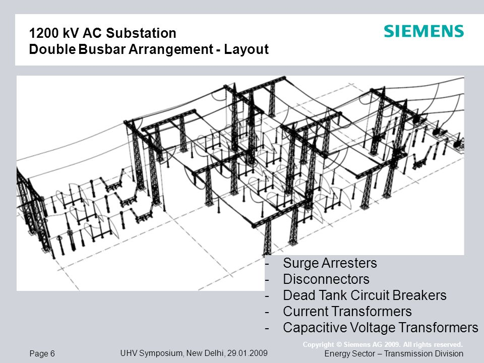 1200 kV AC Substations - Products and Integrated Solutions
