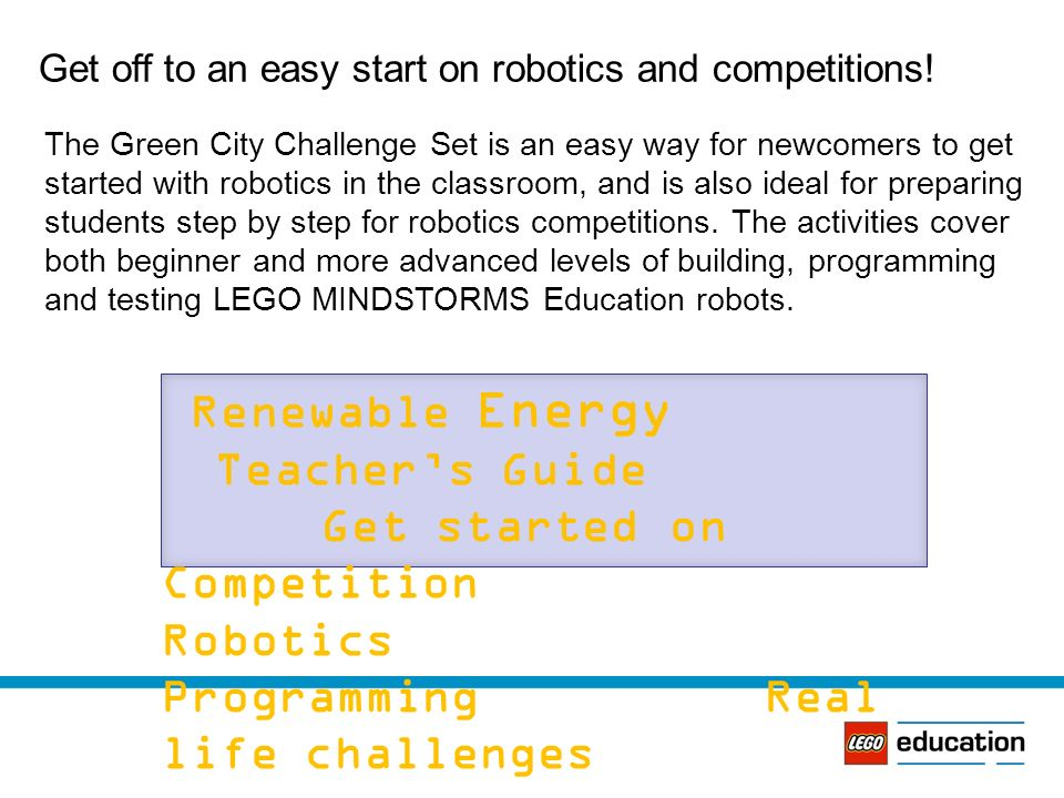 LEGO Mindstorms Green City Introduction - ppt video online