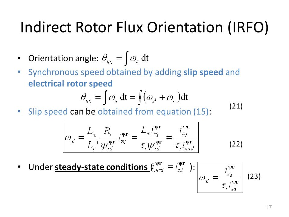 field oriented control of induction motor pdf