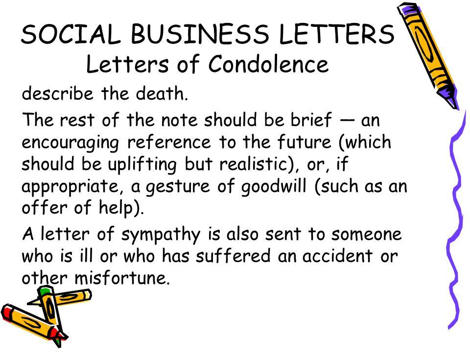 Social Business Letters Ppt Video Online Download