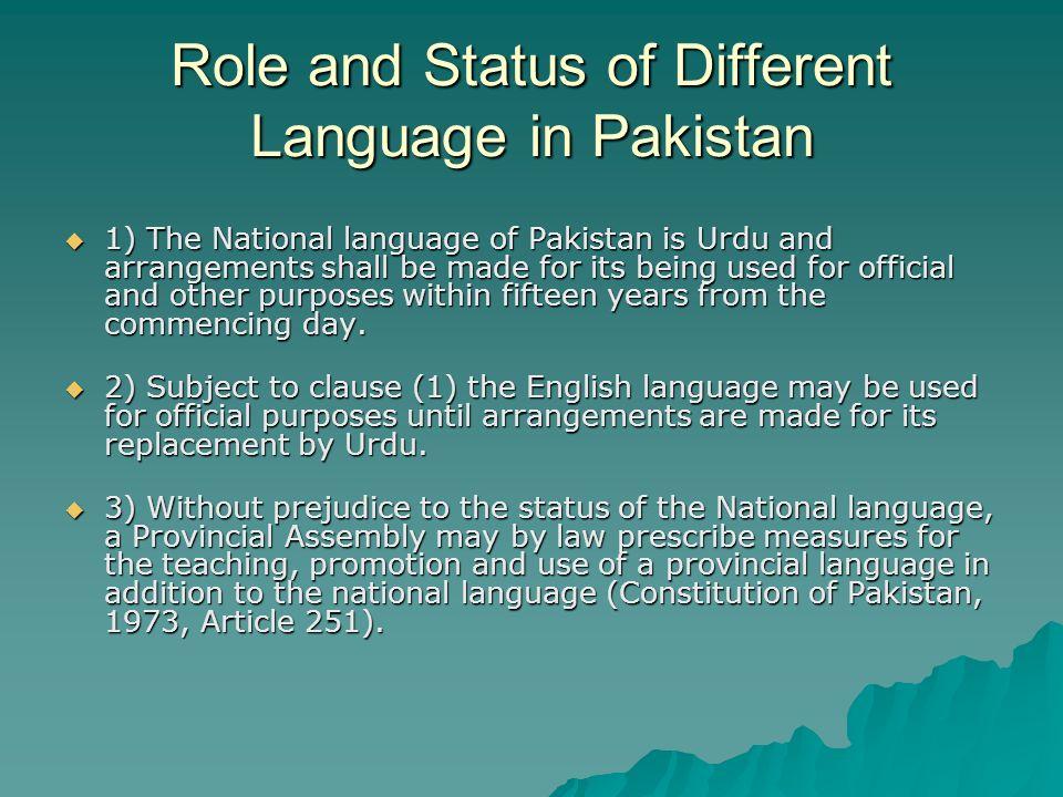 Linguistic Inequalities: The Urdu-English Medium Divide in