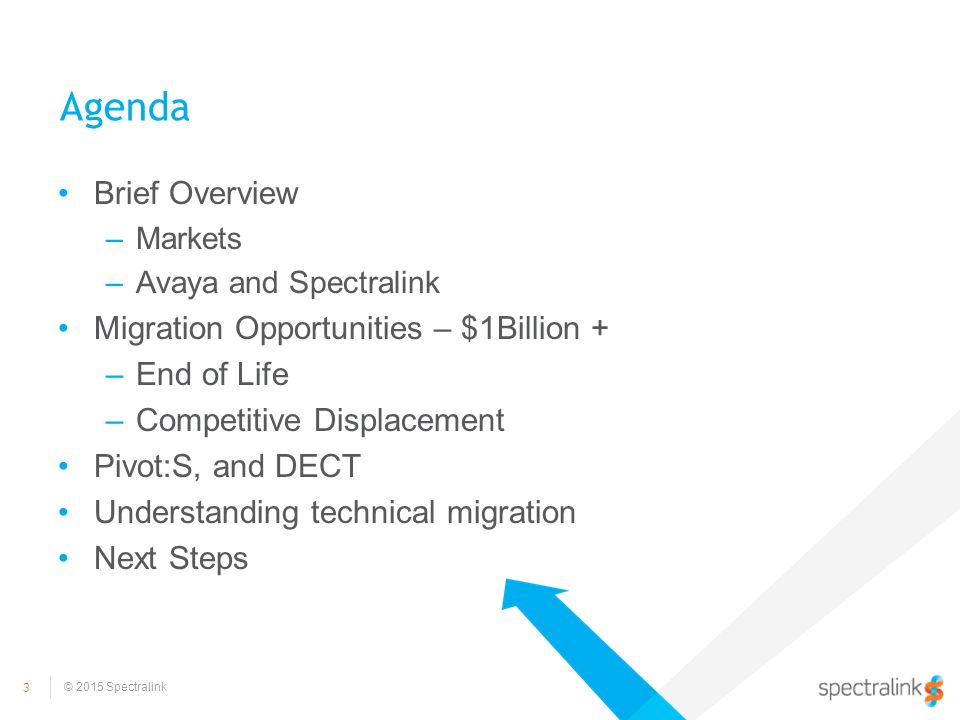 Spectralink – Migrating to Win in Enterprise Mobility - ppt