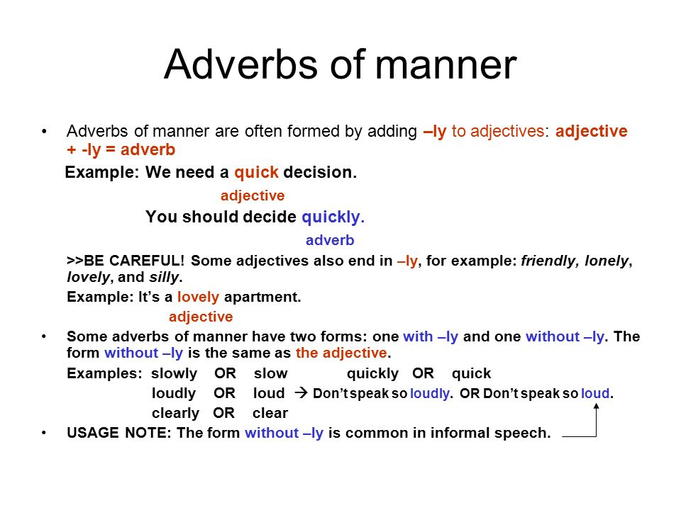 Adverbs Ppt Video Online Download