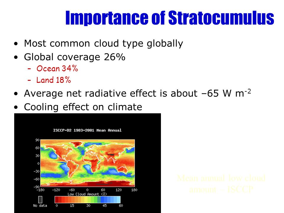 Importance of Stratocumulus