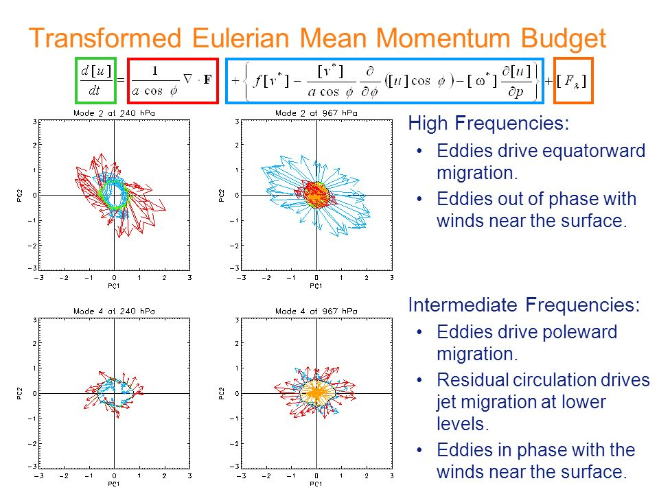 Transformed Eulerian Mean Momentum Budget