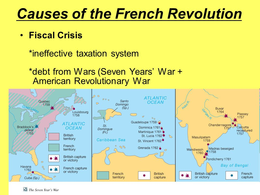 the causes of the french revolution The french royalty in the years prior to the french revolution were a study in corruption and excess france had long subscribed to the idea of divine right, which maintained that kings were selected by god and thus perpetually entitled to the throne.