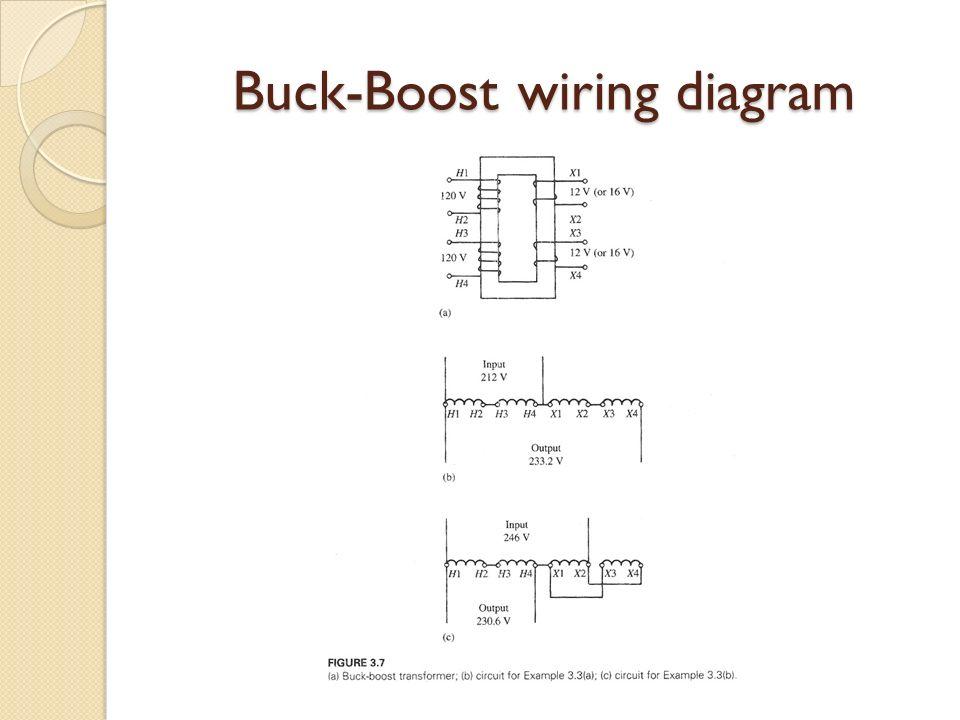 Elec Power Machines Transformers Ppt Video Online Download - 3 phase buck boost transformer wiring diagram