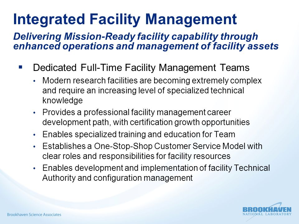 Integrated Facility Management (IFM) Overview - ppt video online ...