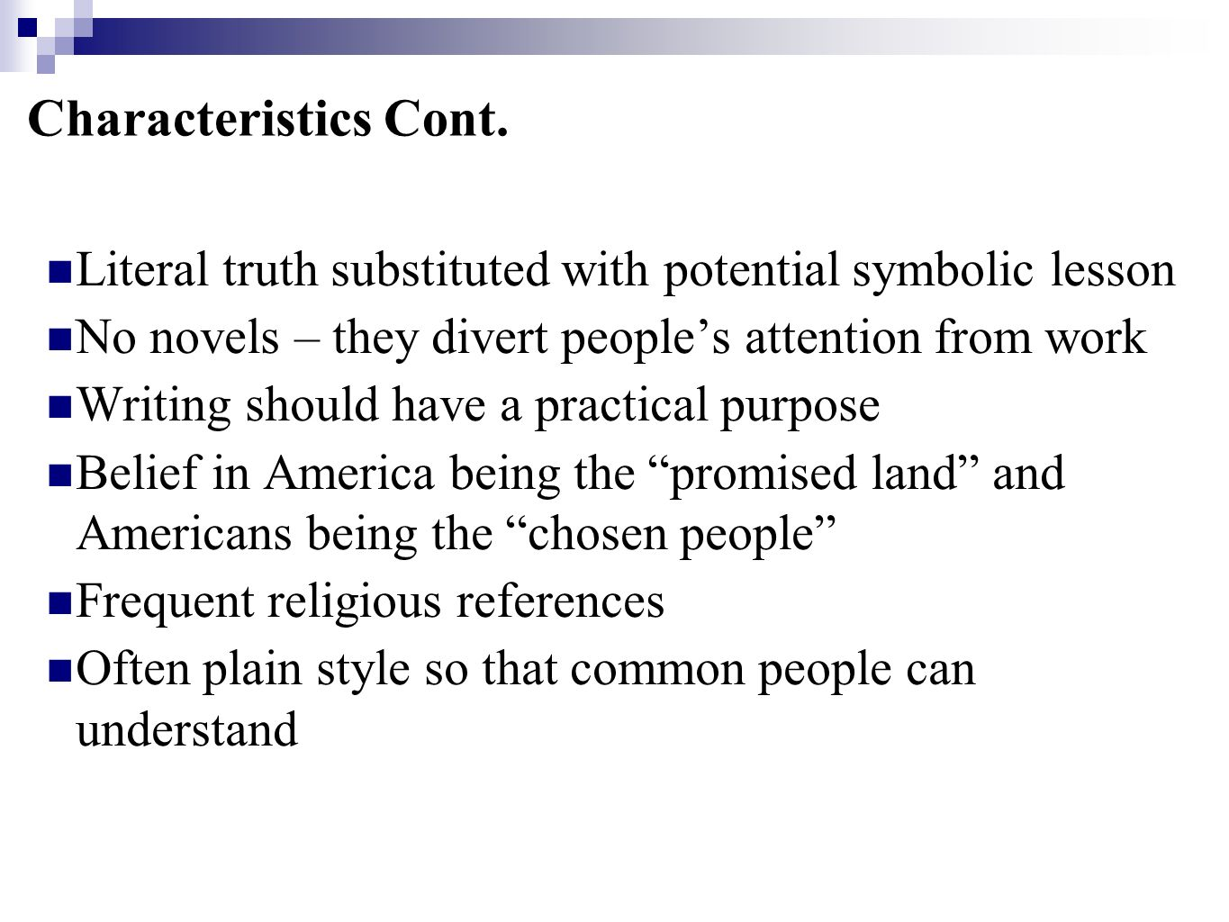 """American literary movements """"Colonial Period"""" - ppt video online ..."""