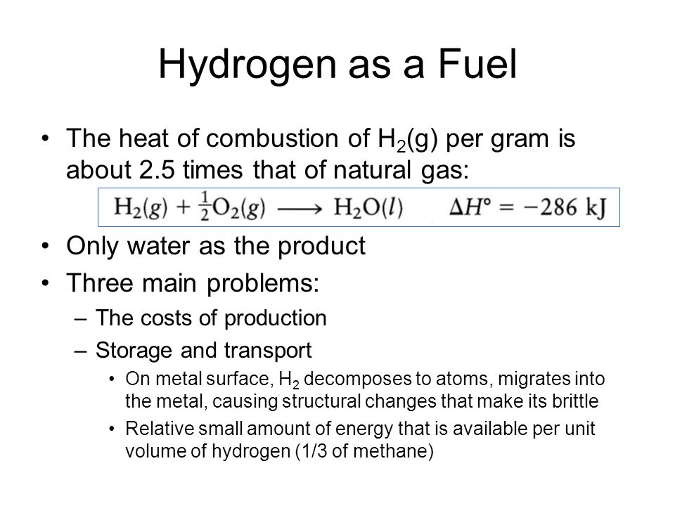 Natural Gas Enthalpy Of Formation