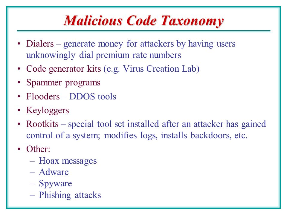 Malicious Code: Viruses and Worms - ppt video online download