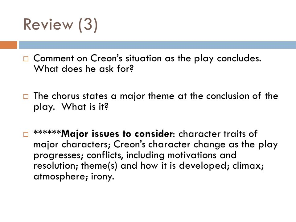 creon character traits