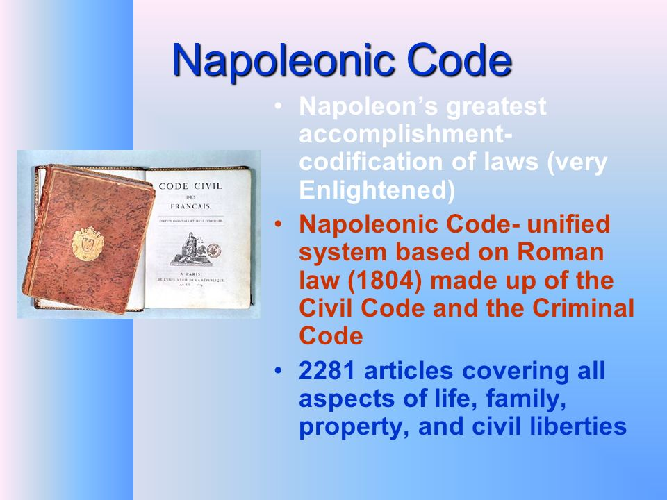 napoleons greatest accomplishments