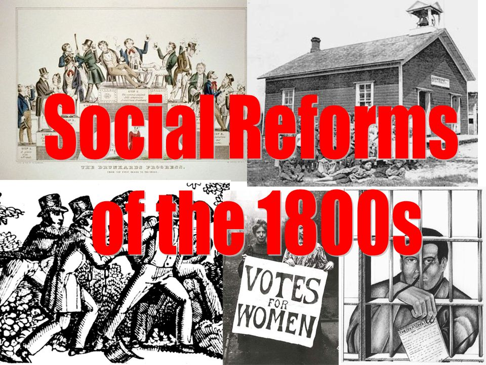 Social Reforms of the 1800s