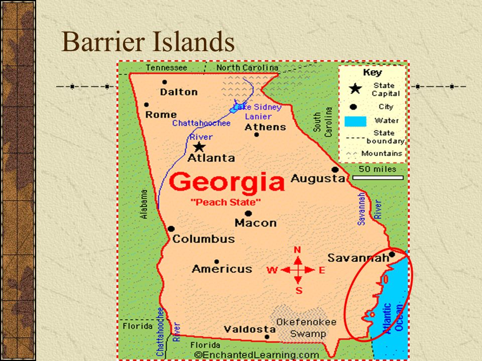 Map Of Georgia Barrier Islands.Where In The World Is Georgia Ppt Video Online Download
