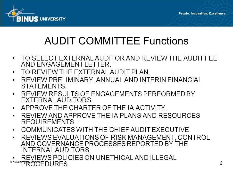 Audit Charter dan Letter of Engagement Pertemuan ppt download