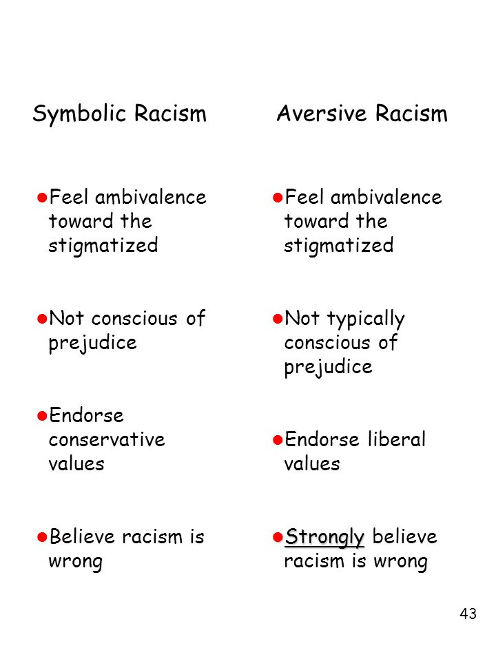 Lecture Outline Prejudice Theories Of Racism Ppt Video Online