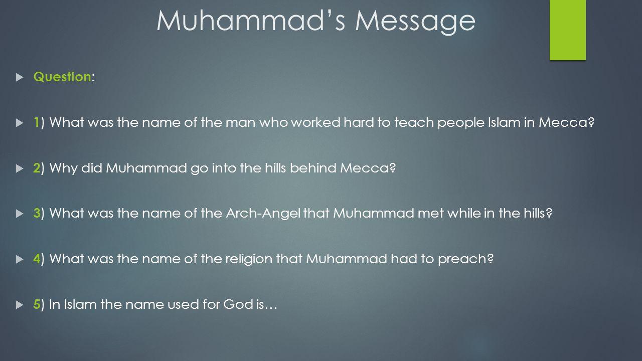 Muhammad: Islam's Prophet - ppt video online download