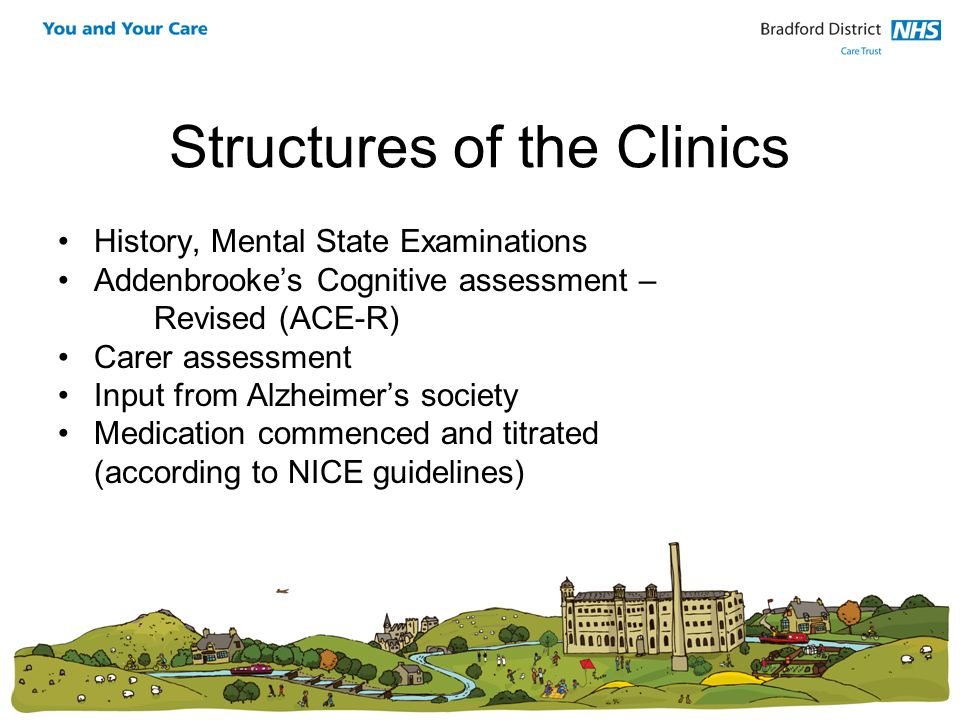 Structures of the Clinics