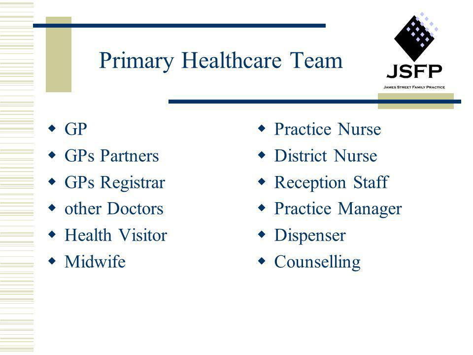 Primary Healthcare Team