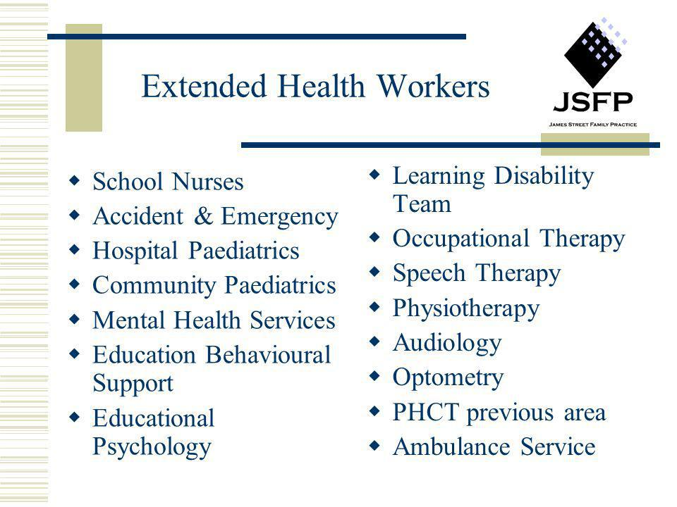 Extended Health Workers