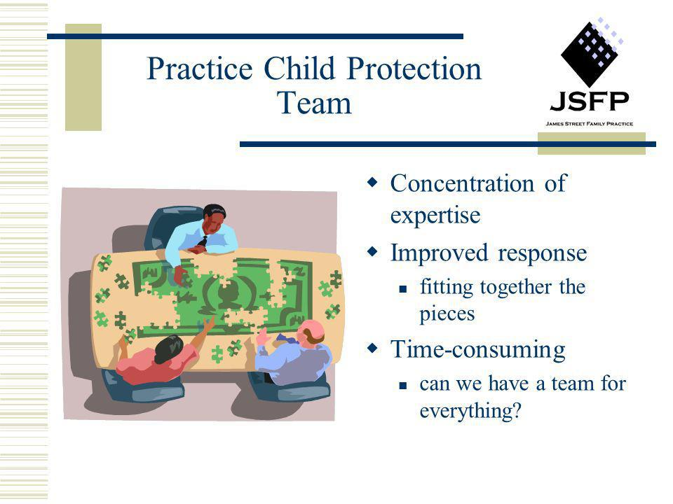 Practice Child Protection Team