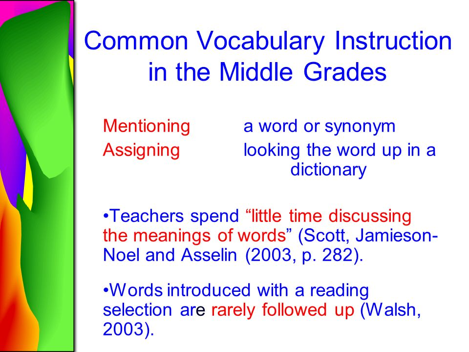 Building Academic Vocabulary Grades Ppt Download