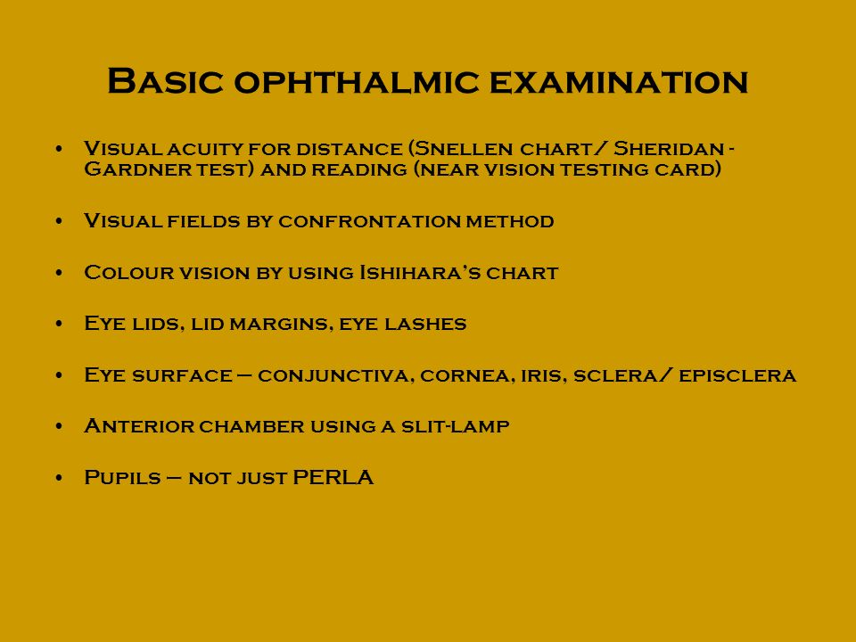 Eye Problems In General Practice Ppt Video Online Download