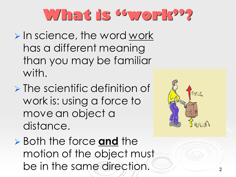 Work and Simple Machines - ppt video online download