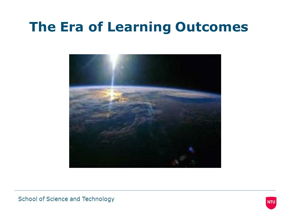 The Era of Learning Outcomes