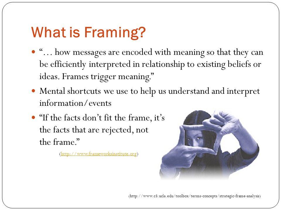 Understanding Framing - ppt video online download
