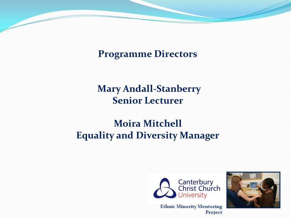 Mary Andall-Stanberry Senior Lecturer Moira Mitchell