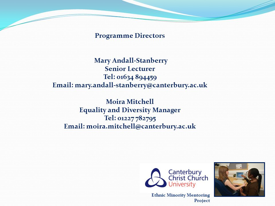 Email: mary.andall-stanberry@canterbury.ac.uk
