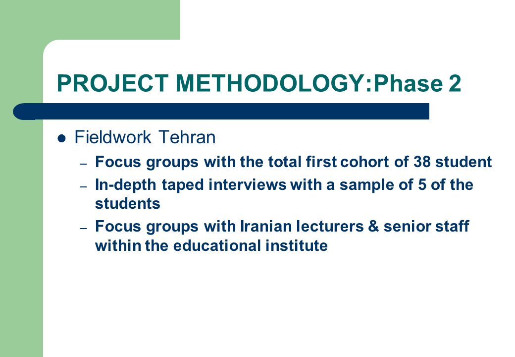 PROJECT METHODOLOGY:Phase 2