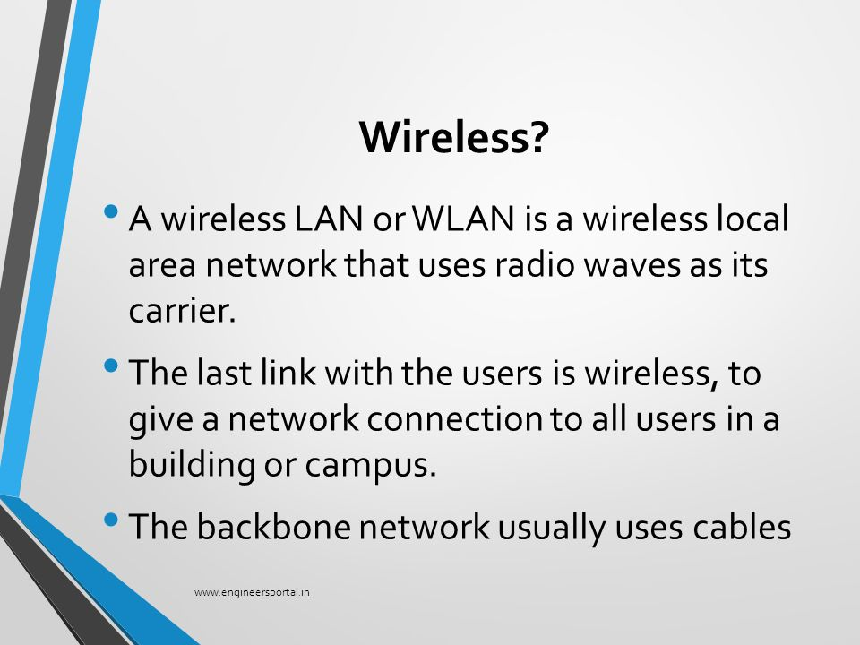 """A PRESENTATION ON """"Wireless Networks"""" - ppt video online download"""