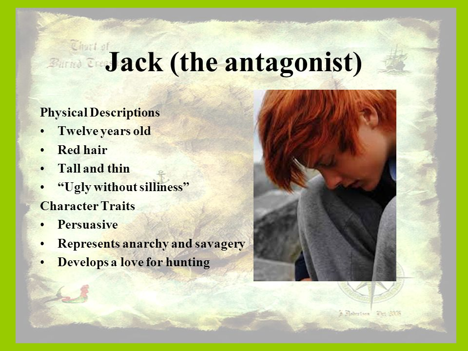 lord of the flies jack description