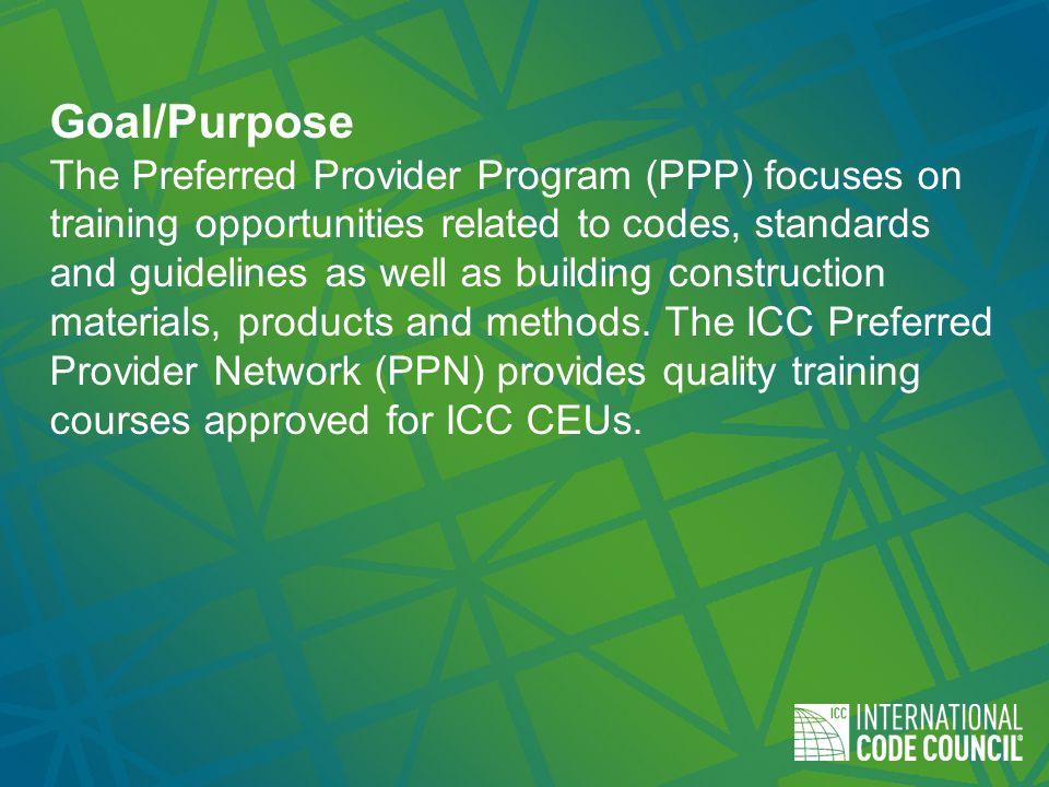 Iccs Preferred Provider Program Ppt Download
