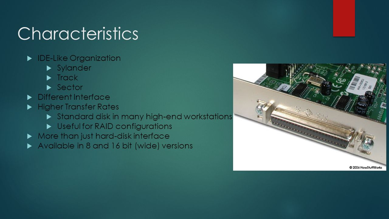 Hard disk: the principle of operation and basic characteristics
