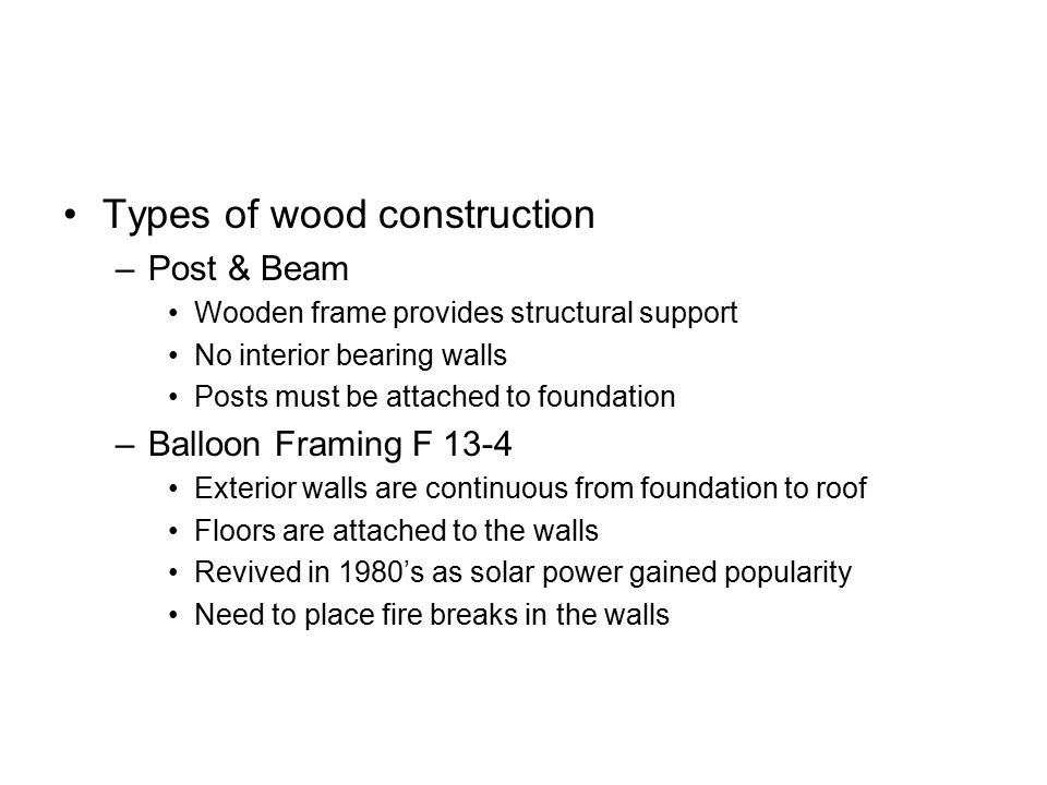 Wood Construction CTC ppt video online download