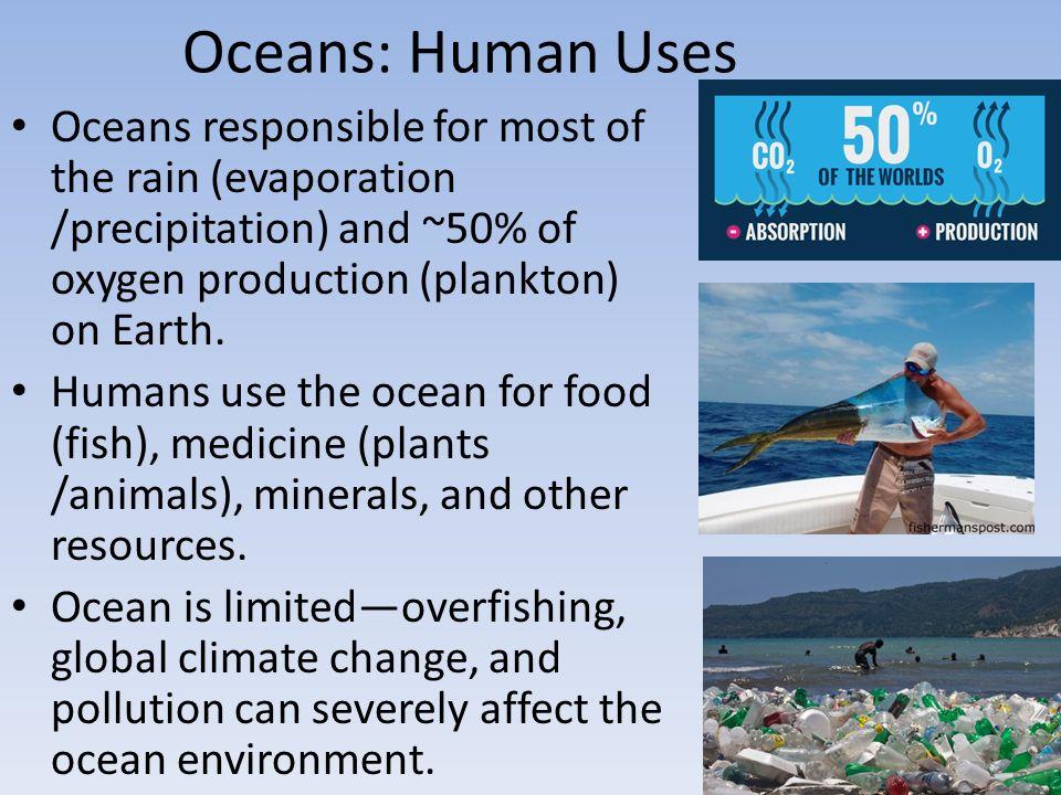 uses of oceans