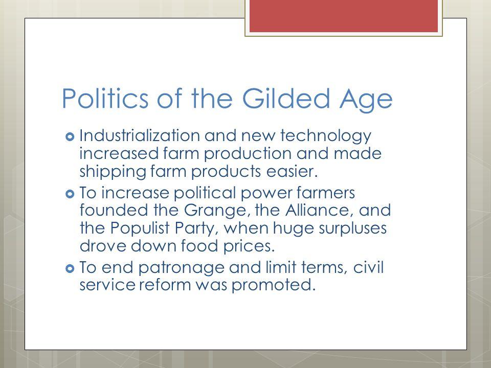 the gilded age summary